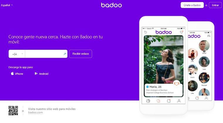 badoo app móvil